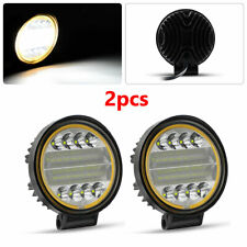 2X 48W LED Work Light Fog Lamp Truck Off-Road 4x4 Tractor Flood Lights 12V 24V