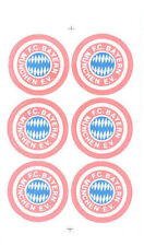 FC Bayern München Aufkleber Sticker 6 Logos Bundesliga Fussball #595