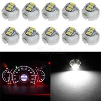 White T4 3 SMD Dash Led For A/C Climate Heater Control Bulbs Lamp Light x10