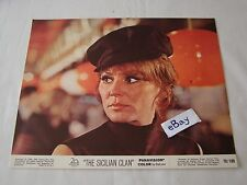 1969 THE SICILIAN CLAN Alain Delon Movie Lobby Card Press Photo 8 x 10 L