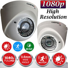 CCTV Dome IP Camera 1080P Full HD 2.0MP VariFocal In/Outdoor Surveillance Cam UK