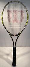 "Wilson Titanium US Open Tennis Racquet Racket 3 7/8"""