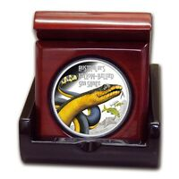 2013 Tuvalu 1 oz Silver Yellow-Bellied Snake  Deadly & Dangerous Coin series
