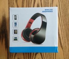 NX-8252 Folding Wireless Bluetooth Headset Stereo Surround Sound Earphone ~ NIB