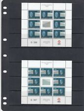a112 - GREENLAND - SG545-546 MNH 2008 EUROPA - LETTER WRITING - SHEETLETS