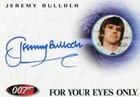 James Bond Complete Binder Exclusive Jeremy Bulloch Autograph Card A90