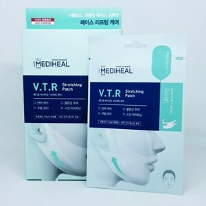 Mediheal VTR Stretching Patch 23ml x 4pcs Renewal Cooling Lifting Mask K-Beauty
