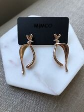 Mimco Nouveau Drop Earrings in Pancake