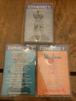 Lot of three Rapmasters 1, 3, 15 - Audio Cassettes - Very Good Condition