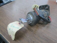 Honda Ignition Switch & Bracket 1976 CB360 CL360 35100-374-007 50375-369-000B