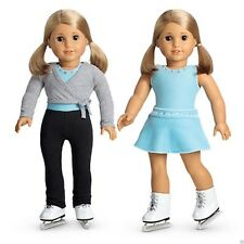 American Girl Doll 2 in 1 Skating Outfit Set NEW!!