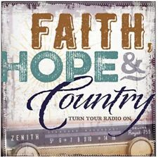 TIME LIFE Faith, Hope & Country Turn Your Radio On CD 2 DISC SET NEW SEALED PKG.