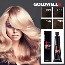 3 tubes Goldwell Topchic Permanent Hair Color Cream Choice from 4NN to 7NN