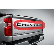 New Generation Silverado Black Chevrolet Tailgate Decal~84370615~2019-2020~OEM