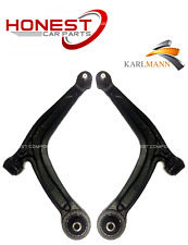 FIAT 500 2008-2015 FRONT LOWER SUSPENSION WISHBONE ARMS X2 PAIR LEFT & RIGHT