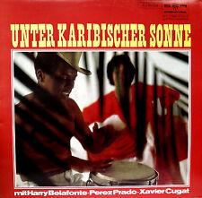 Sotto caribica sole Harry Belafonte Perez Prado Xavier Cugat LP VINILE 12'