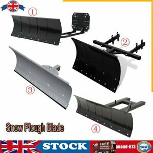 Snow Plough Blade Shovel Pusher Snow Plow Removal for ATV Quad Tractor Forklift