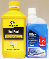1 Litro Bardahl Additivo Auto Hot Fuel motori Diesel Antigelo Gasolio