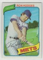 1980 Topps Baseball New York Mets Team Set