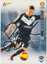 SIGNED CARD - LEIGH BROXHAM - MELBOURNE VICTORY