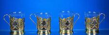 Rusia Niello-silberteeglasshalter parte dorado silberbeschau moscú para 1958