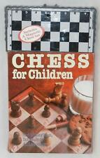 Chess for Children Book and Portable Travel Magnetic Wooden Board NEW Sealed