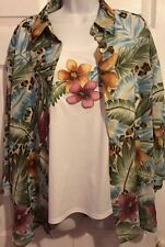 Alfred Dinner Faux Twinset Size 16 Shirt top
