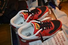 Nike Air Max 90 Black Varsity Red White Size 11 Style 325018-061 shoes 2008