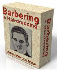 BARBERING / HAIRDRESSING 6 Rare Vintage Books on CD!