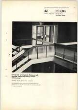 1965 Sliding Rails To Balustrade Entrance Hall Staircase Derby College Of Tech