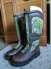 Mens 9W Redhead Snake Proof Boots Waterproof Boots Camo Hunting
