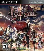 Legend of Heroes: Trails of Cold Steel II (PS3, 2016) EXCELLENT!!- COMPLETE!