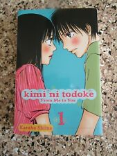 Kimi ni Todoke (From Me to You) Manga Graphic Novel by Karuho Shiina, Book 1