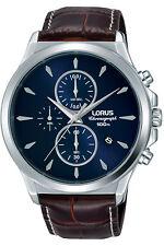 Reloj Hombre LORUS CLASSIC MAN RM397EX8 de Cuero Marrón