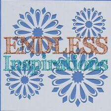"6""x6"" Endless Inspirations Stencil, Flower Petals 2 - Free US Shipping"