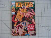 VINTAGE MARVEL COMICS GROUP KAZAR VOLUME 1 NO 2 1970
