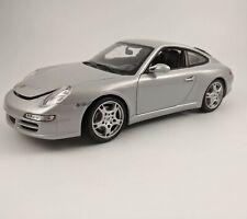 Welly diecast 1/18 Porsche 911 (997) Carrera S Silver 18004