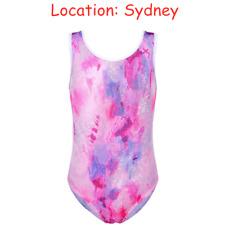 AU Store 3-14Y Girls Leotards Ballet Gymnastics Dancewear Activewear Outfit Tank