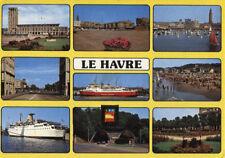 Alte Postkarte - Impressionen von Le Havre
