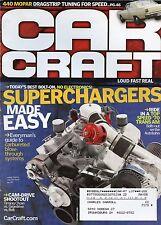Car Craft Magazine October 2005 Mopar Dragstrip Tuning / Superchargers Easy