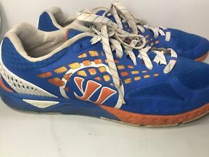 Warrior Prequel Running Shoes Royal Blue Orange White Mens Size 14 D