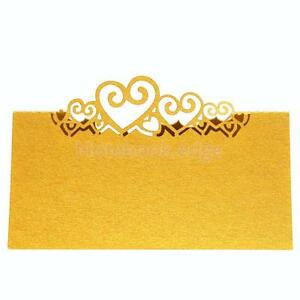 25pcs Wedding Name Place Cards For Home Table Number Decoration Pearlescent Card