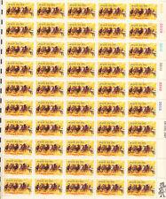 SCOTT #1528   SHEET HORSE  RACING  10 CENT    MNH