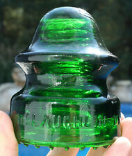 Vibrant, Glowing Green CD 164 McLaughlin - 20 Glass Insulator