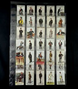 Vanity Fair ( unnumbered ) Cigarette Cards WD & HO Wills 1902 Pick Your Cards