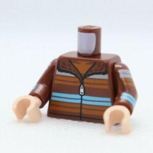 TORSO -Jacket Multicolor Stripes Arms (Ron Weasley) LEGO® Minifigure Part