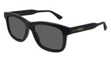 Neues AngebotGucci Sonnenbrille GG0824S  005 Schwarz - Grau - Mann