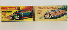 CARS : BAJA BUGGY (13) & MAZDA RX 500 (66) MATCHBOX MODELS MADE IN THE 1970 'S