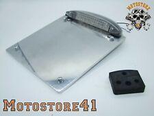 Harley Davidson Kennzeichengrundplatte Nummernschild 20x20cm mit LED-Rücklicht
