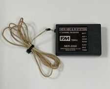 Really Nice JR NER226X 72mhz 6 Channel FM PPM RC Airplane Heli Receiver RX